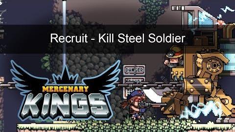 Mercenary Kings - Recruit - Kill a Steel Soldier Mission