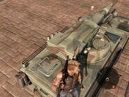 Guardian Artillery Turret Rear