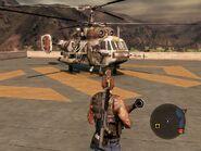 Locust Assault Helicopter Front Quarter
