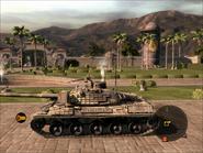 Jaguar Heavy Tank Left Side
