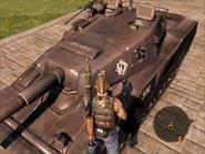Mantis Light Tank Turret Front