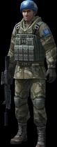 An soldier regular