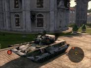 Dragon Lance Light Tank Front Quarter