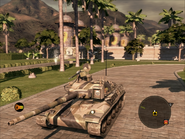 Jaguar Tank Front Quarter