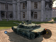 Diplomat Heavy Tank Rear Quarter