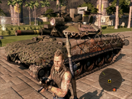 Cavalera Light Tank On Foot View