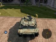 Diplomat Heavy Tank Top Rear