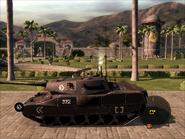 Mantis Light Tank Left Side