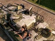 Dragon Lance Light Tank Rear Turret Close-up