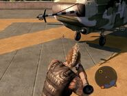 Locust Assault Helicopter Nose Details