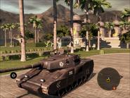 Mantis Light Tank Front Quarter