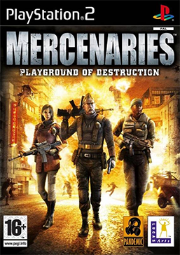 Mercenaries - Playground of Destruction Coverart