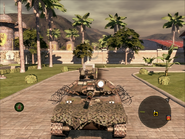 Cavalera Light Tank Front