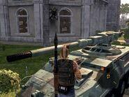 Guardian Artillery Main Turret Front