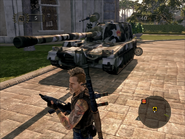 Tempered Hammer Artillery Left Front on Foot