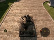 Cavalera Light Tank Top Rear