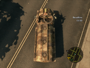 Capuchin Tanker Top Rear