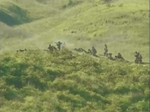 AN forces fighting