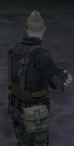 Pocket artillery holstered