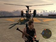 Locust Assault Helicopter Rear