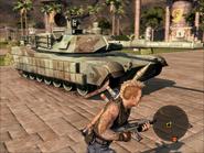 Diplomat Heavy Tank On Foot View