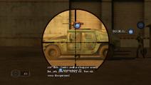 Through a jeep