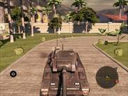 Mantis Light Tank Front