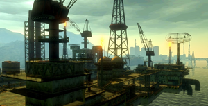 Maracaibo Oil Rig