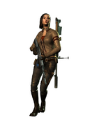 Jennifer mercenaries 2 assault rifle