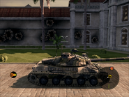 Jaguar Heavy Tank Right Side