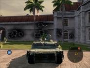 Diplomat Heavy Tank Rear