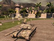 Jaguar Heavy Tank Front Quarter
