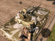 Sundered Dragonfly IFV Turret Rear