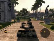 Jaguar Heavy Tank Rear