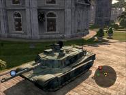 Diplomat Heavy Tank Front Quarter