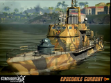 Crocodile Gunboat