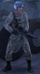 Allied tank pilot