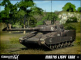 Mantis light tank