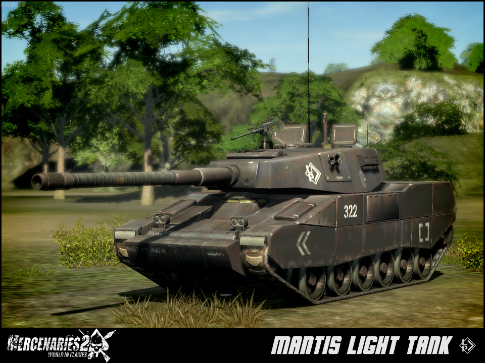 Mantis light tank mercenaries wiki fandom powered by wikia mantis light tank altavistaventures