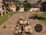 Jaguar Tank Front