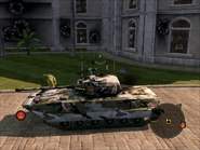 Dragon Lance Light Tank Left Side