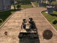 Jaguar Heavy Tank Top Rear
