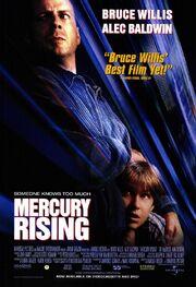 Mercury Rising release poster