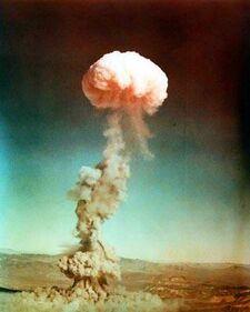 Tactical nuke test