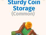Sturdy Coin Storage