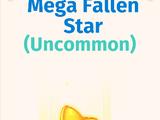 Mega Fallen Star