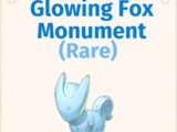 Glowing Fox Monument