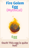 Fire Golem Egg