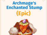 Archmage's Enchanted Stump