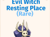 Evil Witch Resting Place